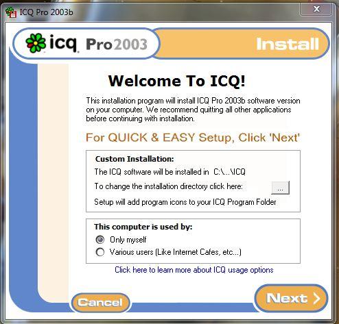 ICQ Pro 2003b Build 3916 является приложением, которое поможет вам в общени